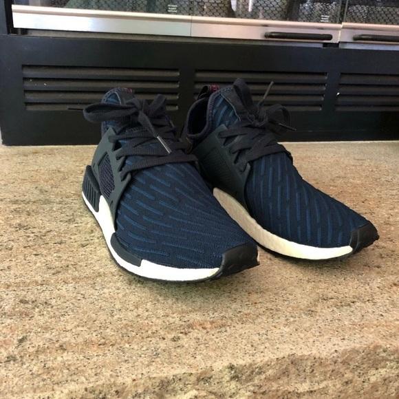 Mens Adidas Originals NMD XR1 PK Collegiate Navy NWT